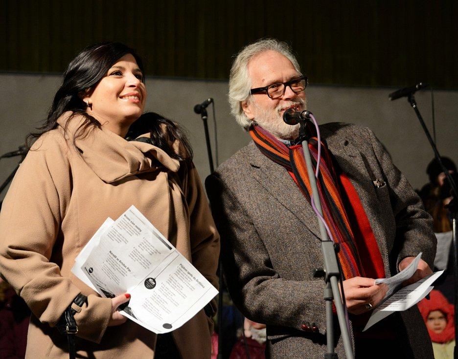 Andrea Kalivodová a František Kinský