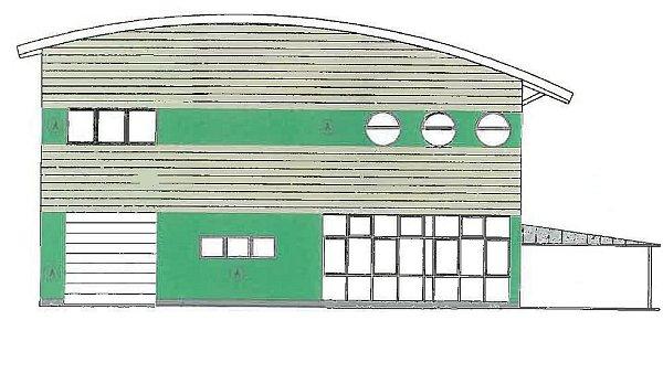 MEZI STAVBY, SJEJICHŽ REALIZACÍ JIŽ bylo započato, patří objekt víceúčelové sportovní haly na stadionu mládeže vKostelci nad Orlicí. Opraven má být istadion samotný