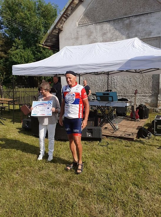 Cyklojízda Na kole dětem se zastavila v Přepychách.