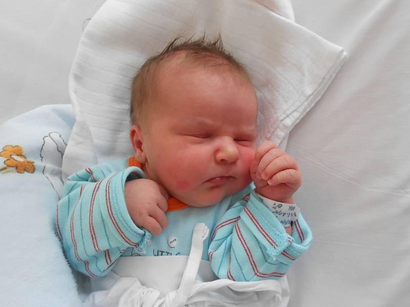DAMIAN FALTUS poprvé vykoukl na svět 14. června v 10.32 hodin. Měřil 51 cm a vážil 4150 g. Velkou radost udělal svým rodičům Ivaně a Danielu Faltusovým z Lípy nad Orlicí. Doma se těší sestřička Valerie. Tatínek to u porodu zvládl skvěle a byl velkou oporo