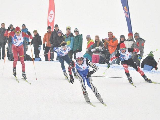 V Deštném v Orlických horách se uskutečnil třetí ročník Red Bull Nordix. Na start náročného závodu se postavilo téměř sto lyžařů