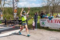 Nejrychlejší účastník premiérového Jarního maratonu - Pavel Pecina z Eleven run teamu.
