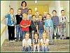 Žáci 1. třídy ze Základní a mateřské školy Javornice.