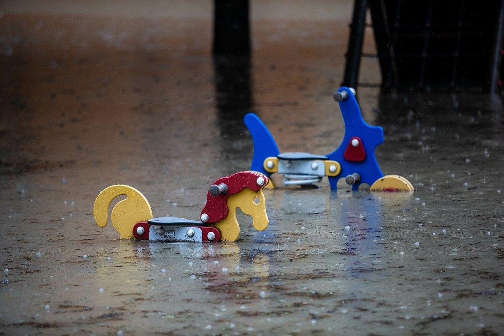 Povodně na Rychnovsku.