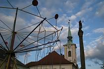 Tradiční Kostelecká pouť na Palackého náměstí v Kostelci nad Orlicí.