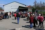 První setkání příznivců legendárního vozítka zn. Velorex v Solnici.