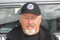 Trenér českého reprezentačního družstva PAVEL HLAVÁČ.