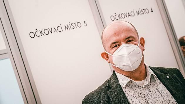 Luboš Mottl, ředitel rychnovské nemocnice.