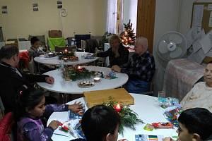 Vánoce v Kostelci sbližují. Foto: archiv Pobytového střediska