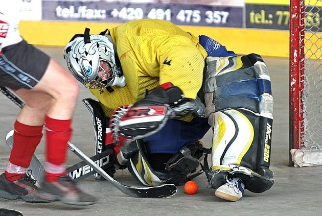 Hokejbal v Opočně.
