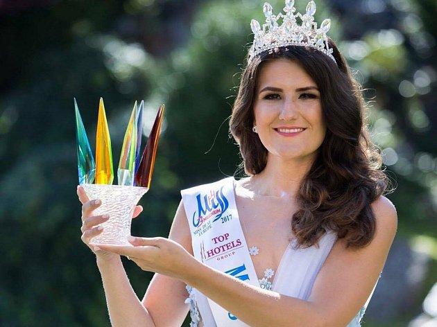 Miss Deaf Europe 2017: Petra Gluchová z Týniště nad Orlicí.
