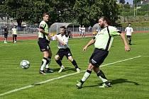 V utkání Rychnov nad Kněžnou B vs. Lukavice uspěli domácí fotbalisté.