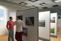 Přibližně takto by měly vypadat prostory nového muzea v Častolovicích, které by tam rádi začali budovat již letos v září. Získaná vizualizace je dílem studentky Martiny Řeháčkové.