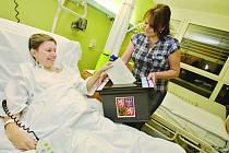 Volí i pacienti z nemocnice