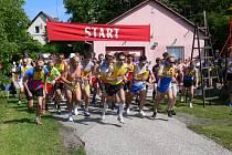 V Cháborách se uskutečnil již dvaatřicátý ročník přespolního běhu areálem zdraví.