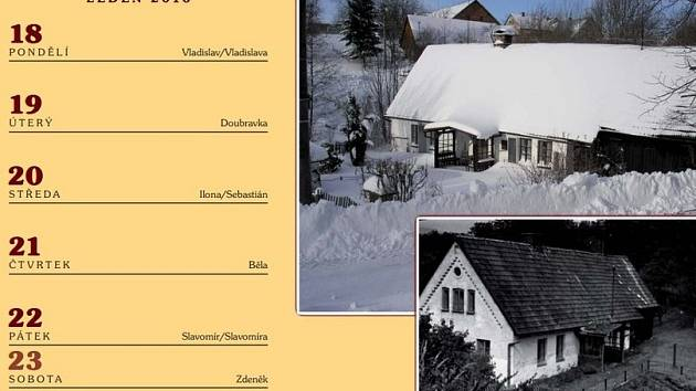 Kalendář obce Ohnišov na rok 2016.