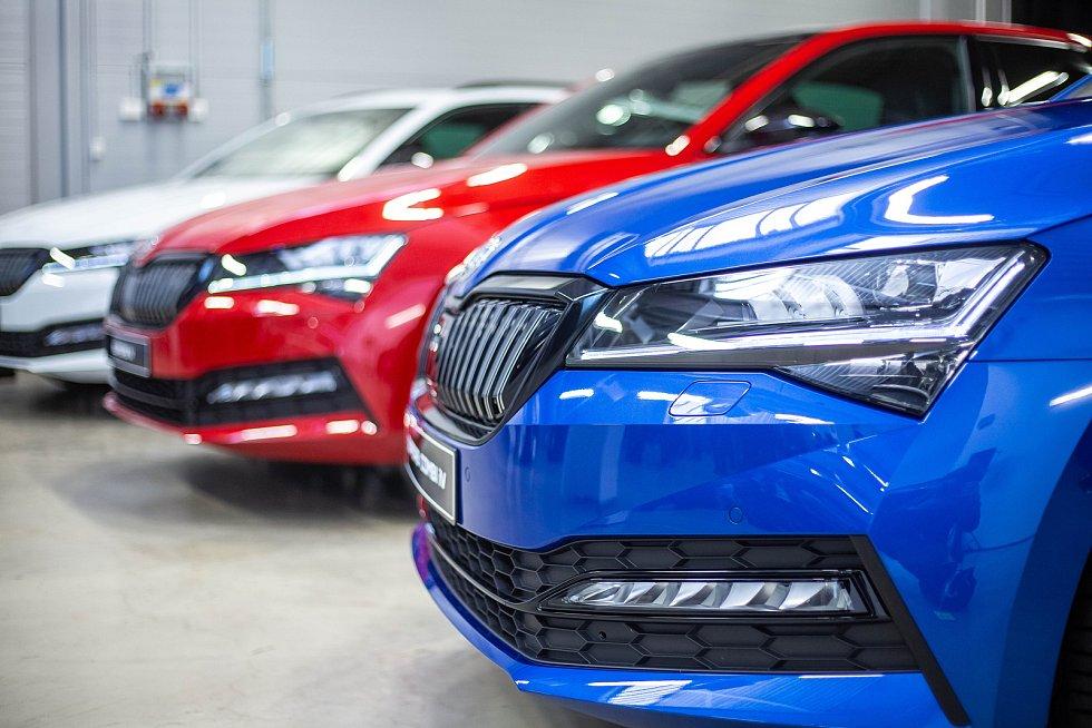 Zahájení výroby nové hybridní Škody Superb IV.