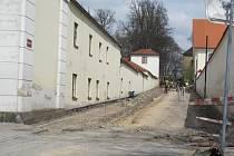 Kolowratská ulice v Rychnově.