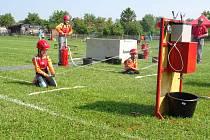 V Pohoří předvedlo své dovednosti 443 malých hasičů z celého okresu.