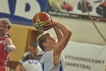 Z basketbalového utkání Rychnov n. K. - Týniště n. O.