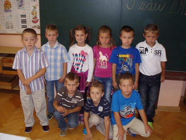 První třída Základní školy Bílý Újezd