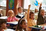 školáci ilustrační