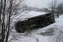 Dopravní nehoda u Vamberka
