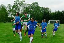 Okresní přebor III. třídy ve fotbale: Křovice - Vamberk B.
