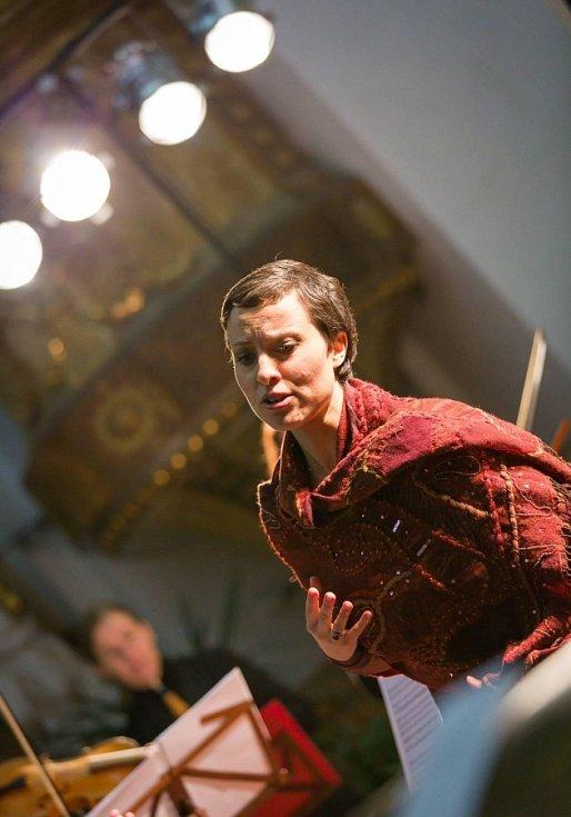 Koncert Mezinárodního hudebního festivalu F. L. Věka v Dobrušce