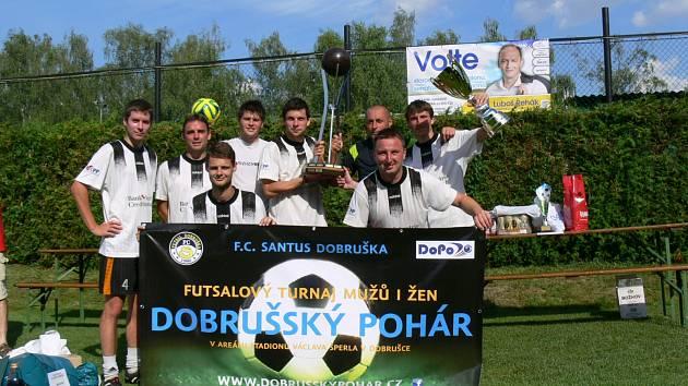 Dobrušský pohár získali futsalisté hradeckého Flamenga