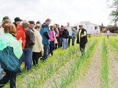 BĚHEM PŘEDÁNÍ OCENĚNÍ se konal také den otevřených dveří Bozetické farmy. Při něm se veřejnost mohla něco dozvědět o zásadách ekologického hospodaření.