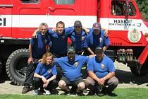 Rokytničtí dobrovolní hasiči.