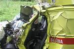 Sanita předjížděla, po nehodě dva mrtví