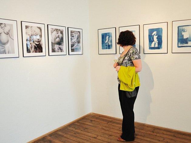 RYCHNOVSKÝ FOTOKLUB zahájil výstavu, nechybělo ani hudební vystoupení.