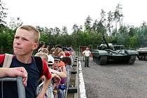 Den dětí v týnišťské vojenské posádce.