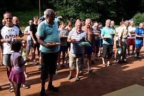 37. ROČNÍK pouťového turnaje ve volejbale uspořádala Tělovýchovná jednota Sokol Chleny.