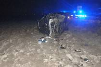 Nehoda skončila zraněním pěti lidí