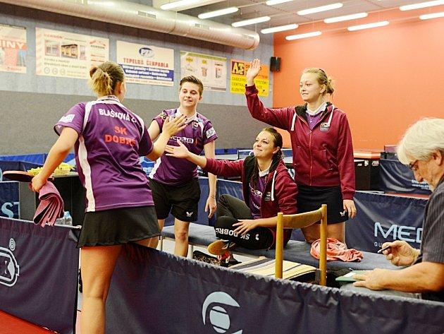 Extraligové hráčky SK Dobré završily sezonu účastí ve čtvrtfinále play off.