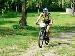 Nejrychleji zvládl trať dlouhou 26,8 km vítězný Petr Vítek z Hradeckého spinning klubu.