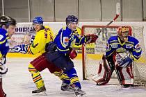 PŘÍPRAVNÝ ZÁPAS hokejistů Opočna a Semechnic před sezonou skončil vítězstvím Baronů 6:2. Jak dopadne dnešní duel tradičních rivalů na zimním stadionu v Opočně?