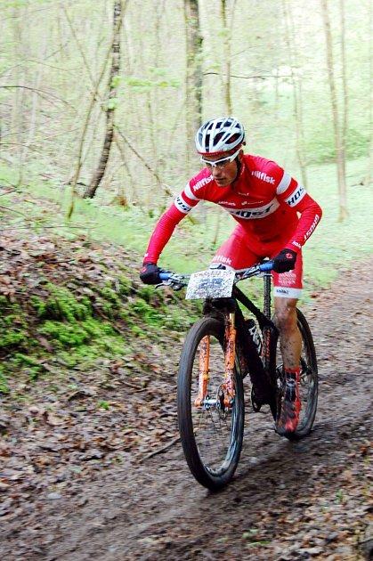 Michal Kaněra potvrdil roli favorita a suverénně ovládl jedenáctý ročník Stalak Bike Cupu.