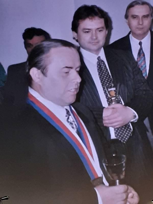 Ze Slavnostního večera v Dobrušce a ocenění.