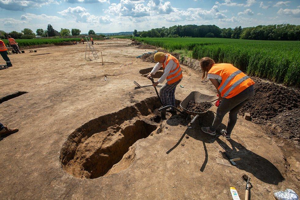 Archeologické nalezišťe u Domašína na Rychnovsku.