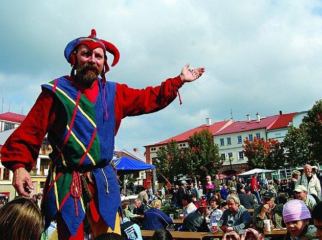 Na Svatováclavské slavnosti se mohou obyvatelé, ale i návštěvníci  města těšit i letos.