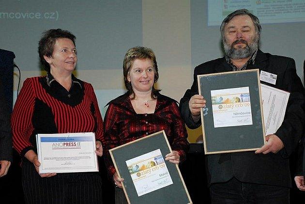 Mokré tento týden oslavilo díky Dáše Honsnejmanové ocenění v soutěži Zlatý erb 2009