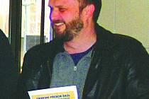 Pedagog kostelecké OA Tomáš Blažek.