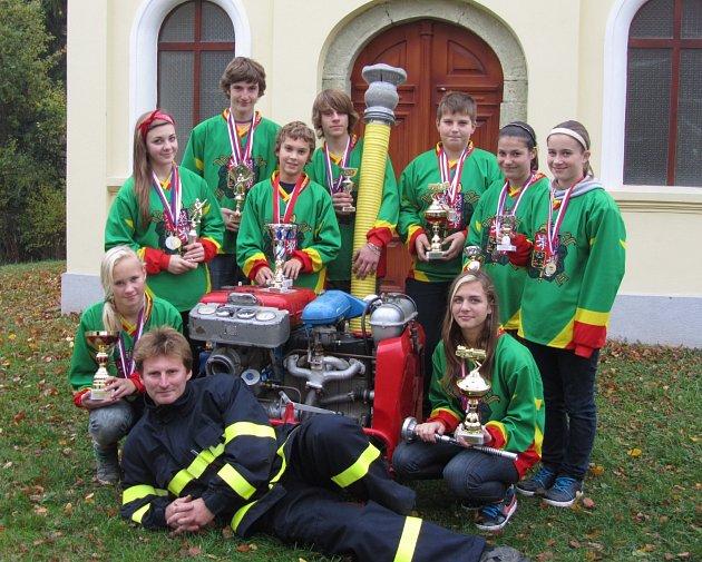 Hasiči Křovice – úspěšná sezóna starších žáků