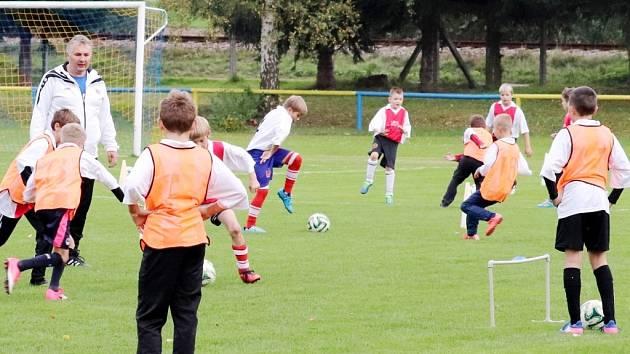 Seminář trenérů fotbalové mládeže ve Vamberku.