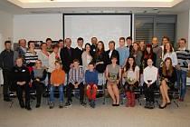 Město ocenilo své nejlepší sportovce, sportovní kolektivy a trenéry v pondělí 25. ledna v malém sále společenského centra.