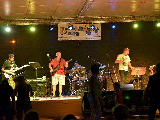 Hudební festival v Borohrádku se opět vydařil.